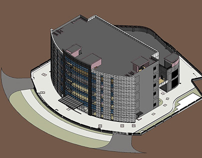 3D BIM Modeling and Clash Detection for a Building