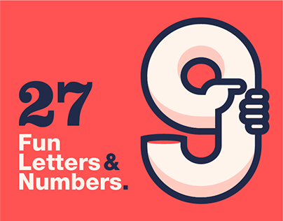 27 Fun Letters & Numbers