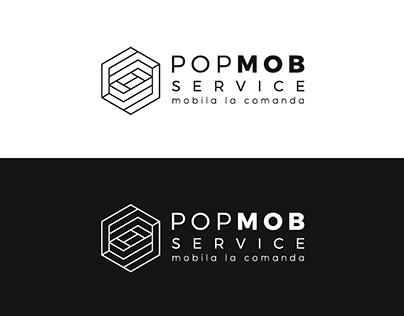 Pop Mob Service - Sibiu - Logo Design