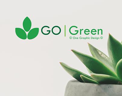 ''Go Green'' logo presentation.