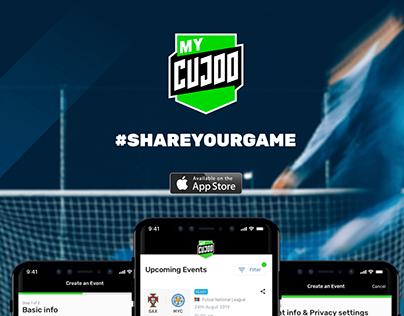MyCujoo Broadcast App