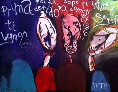 2013 - Acrylics on Canvas