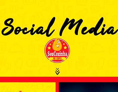 Social Media - Seu Coxinha no Copo | Ponta da Praia