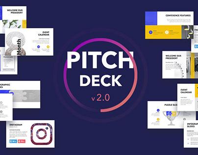 Pitch Deck v 2.0 Presentation deck