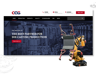 CQS Precision Die-casting Inc Website