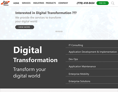 Sun Technologies Website Redesign.....