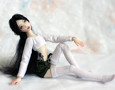 Wild Rose. Author's BJD