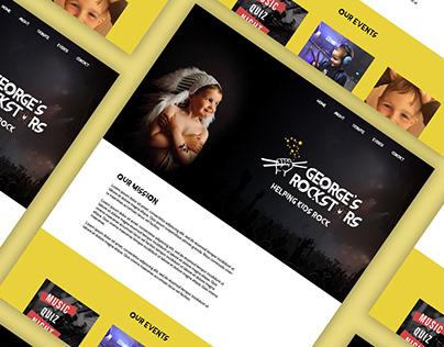 George's Rock Stars Web Design