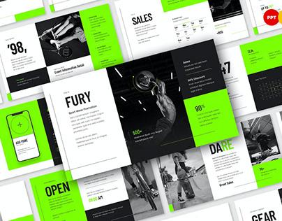 Fury - Sport Wear Promotion