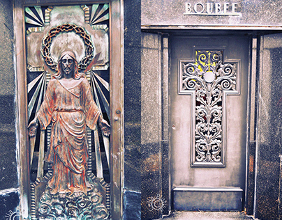 Cemetery doors I