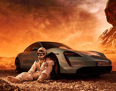 Porsche - Mars-Mission
