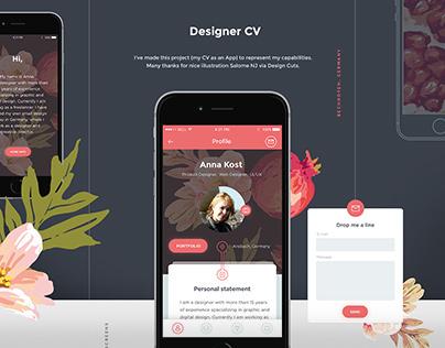 Designer CV App