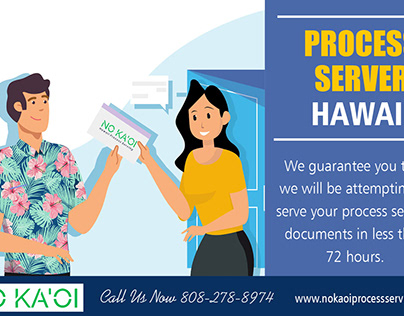 Process Server Hawaii
