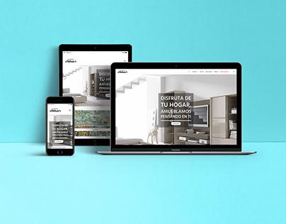 Diseño Web para tienda de muebles.
