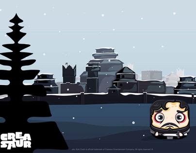 GOT- Winterfell Background