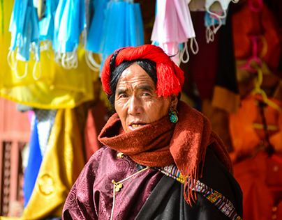 Tibetan Sichuan Faces of Mystery