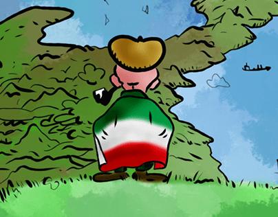 Pertini thinks to Italy