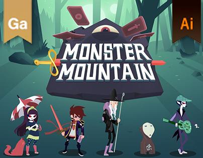 Monster Mountain - Artbook