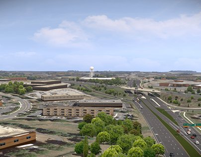 Large Scale Road Improvement Visualization
