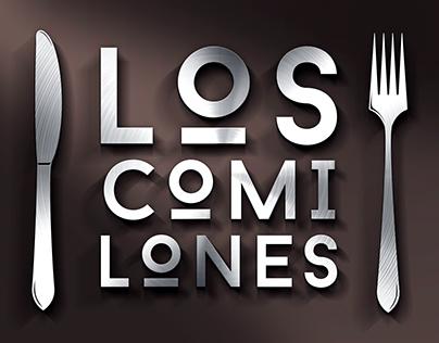 Propuestas de logo para Restaurante Los Comilones