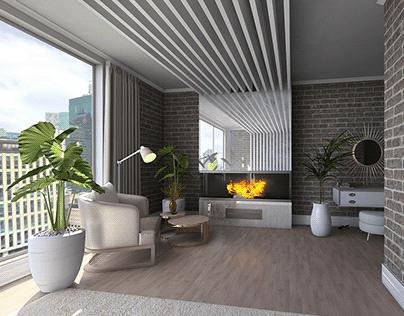Light Urban Bedroom