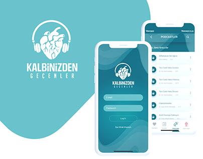 Kalbinizden Geçenler Mobile App UI/UX Design