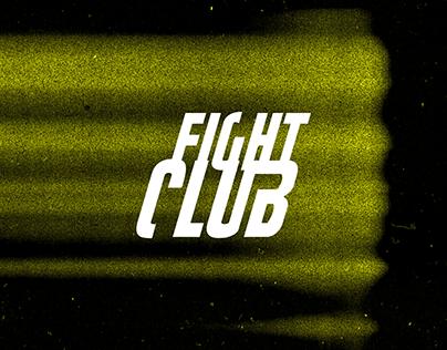 Fight Club Website Concept