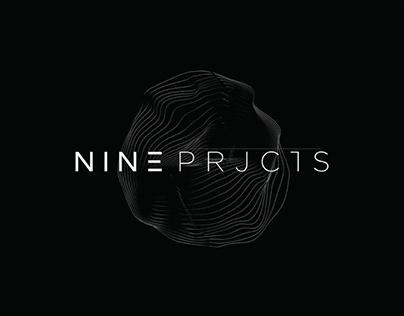 NINE PRJCTS - Logotype & Branding
