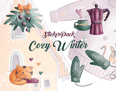 Sticker Pack Cozy Winter
