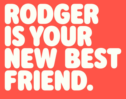 Rodger Typeface Design