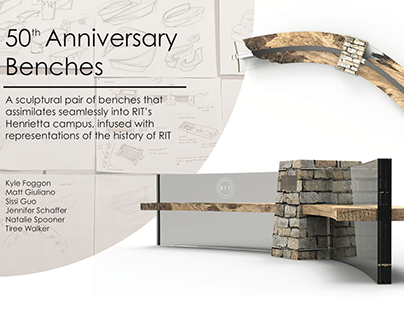 T-Minus 2018: 50th Anniversary Bench