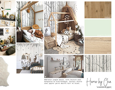 PROJET FAUMONT CHAMBRE ENFANT - Home By Cha