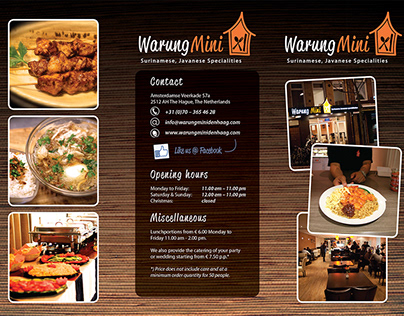 Restaurant image building