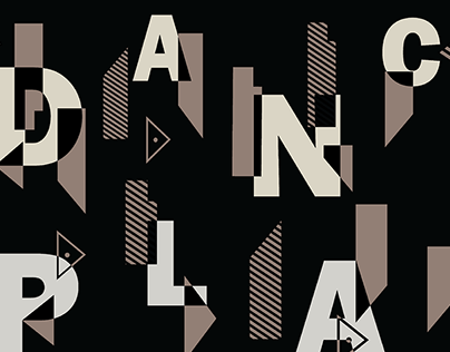 Dance//Play – Using type to celebrate a community