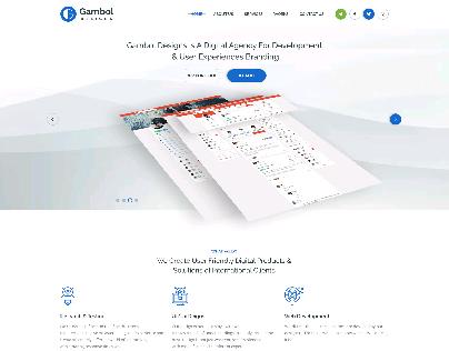 Gambol Design Website