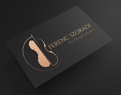 Logo design for Streichinstrumente Szoradi - Berlino