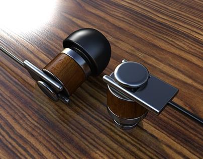 Companion Wooden Premium Earbuds