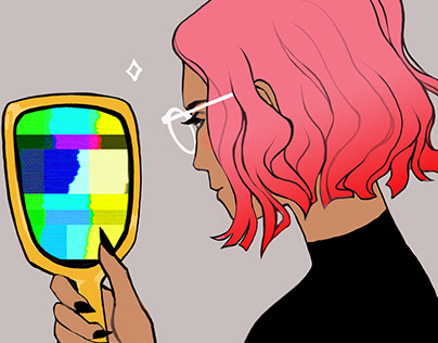 Magic Mirror GIF
