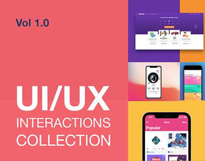 UI/UX Interactions Collection Vol 1.0