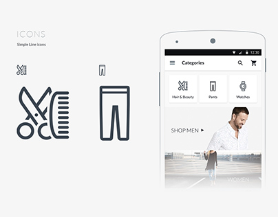 BrandShop - Fashion Ecommerce App UI kits