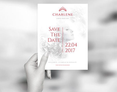 Princess Charlene Ladies Race Day - Branding