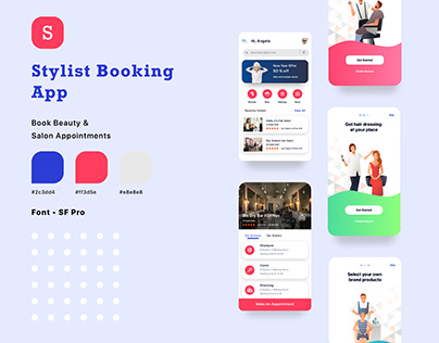 Salon Stylist Booking App