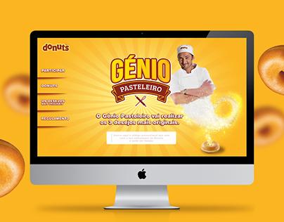 Génio Pasteleiro - Donuts