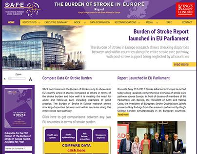 The Burden Of Stroke In Europe - 2017
