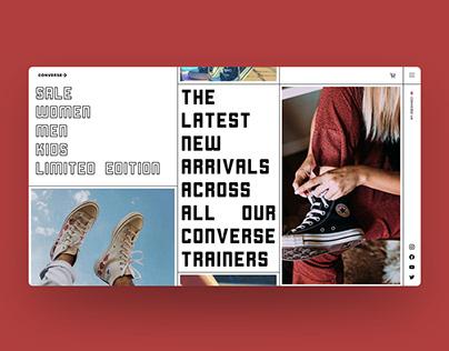 Converse Site Redesign