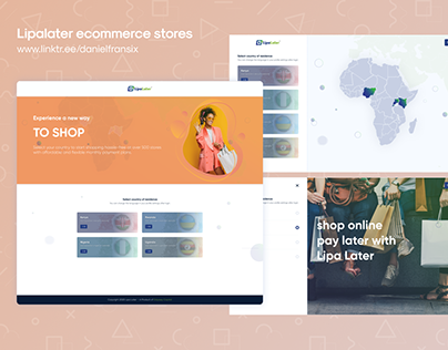Lipalater website ui/ux design project