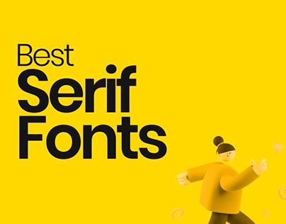 Best Serif fonts in 2021