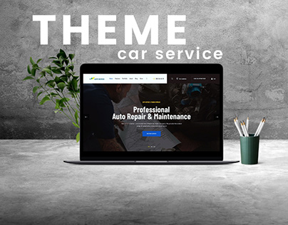CAR SERVICE Web Theme