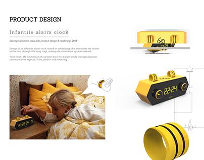 Infantile alarm clock