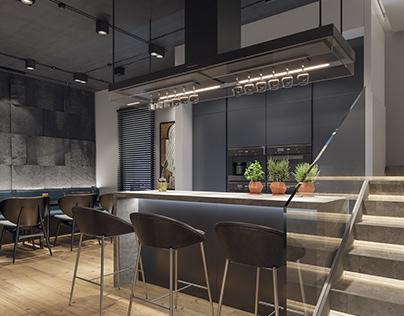 Modern apartement interior